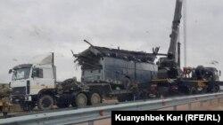 Накануне в Казахстане перевернулся автобус, перевозивший мигрантов. В ДТП погибли трое граждан Узбекистана.