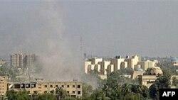 منطقه سبز در بغداد بارها مورد حمله قرار گرفته است.(عکس: AFP)