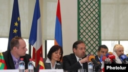 Armenia -- Consuls of EU member states holds a news conference in Yerevan, 26 March 2010.