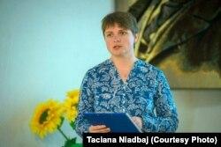 Тацяна Нядбай, старшыня Беларускага ПЭН-Цэнтру