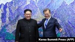 Kim Džong Un i Mun Džae-in