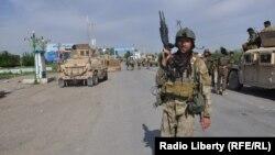 Блокпост афганських урядових сил у провінції Кундуз, 18 серпня 2016 року