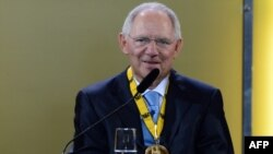 Ministri gjerman i financave, Wofgang Schaeuble
