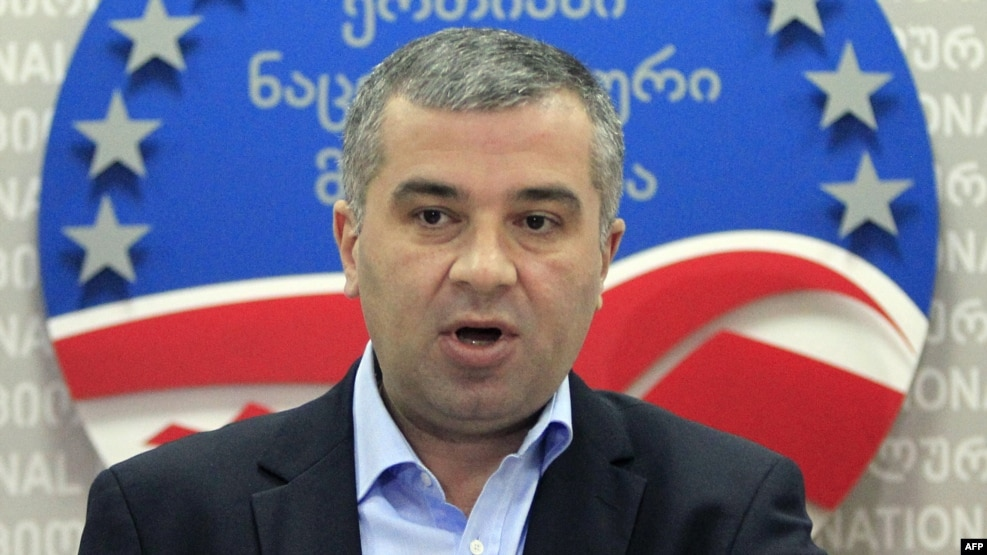 "United National Movement leader Davit Bakradze says that the party's responsiblity to voters ""has increased tenfold,"" since it's the only real pro-Western opposition force in the new legislature."