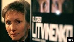Вдовицата на Литвиненко.