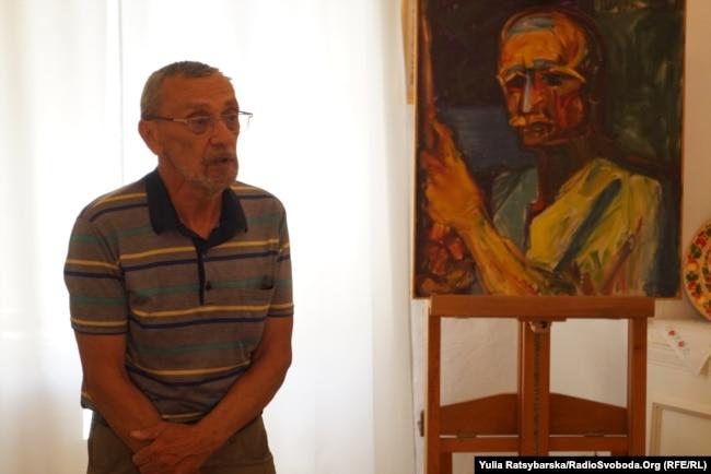 Геннадій Сахаров у Дніпрі в музеї «Літературне Придніпров'я», де вшанували пам'ять відомого земляка, поета і дисидента Івана Сокульського. 2017 рік