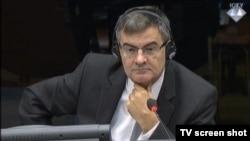 Mile Poparić u sudnici 2. studenog 2015