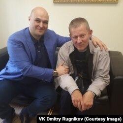 Адвокат Тимур Маршани вместе с Дмитрием Ружниковым