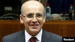 Түркия премьер-министрі орынбасары Мехмет Шимшек.