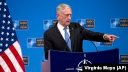 U.S. Secretary of Defense Jim Mattis