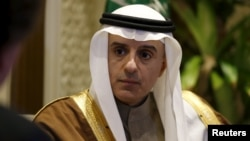 """We are optimistic about the incoming administration and look forward to working with it in all areas that are a concern for both of us,"" Saudi Foreign Minister Adel al-Jubeir said."