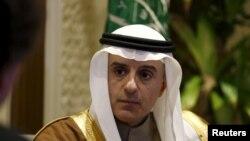 Саудовский министр иностранных дел Адель ад-Джубейр