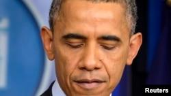 Президент США Барак Обама. Вашингтон, 5 декабря 2013 года.