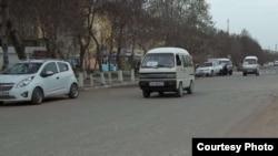 Маршрутные такси – «Дамас» очень распространенный вид транспорта в Узбекистане.