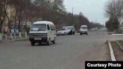 Маршрутные такси – «Дамас» очень распространенный вид транспорта не только в Андижанской области, но и в других регионах Узбекистана.