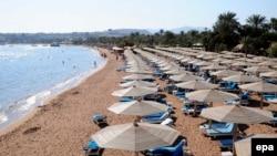 Пляж Шарм-эль-Шэйха, Эгіпет, 10 лістапада 2015 году