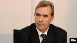 Поранешниот претседател на Уставниот суд Трендафил Ивановски.