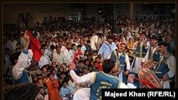 Пуштун музыкасы Пәкістан мен Ауғанстанда аса танымал. (Көрнекі сурет)