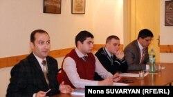 Мероприятие проводилось в рамках программы «Символический Кавказский Суд по Правам Человека на службе демократии Кавказских стран»