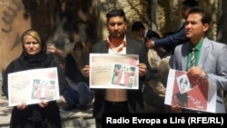 تجمع فعالان مدنی در کابل در اعتراض به قتل ستایش قریشی
