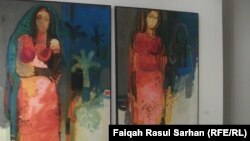 لوحة للفنان هاني الدله علي
