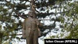 Statuia lui Lenin la Tătărăuca Veche