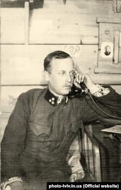 Ерцгерцог Вільгельм фон Габсбург (Василь Вишиваний). Фото періоду 1914–1915 років
