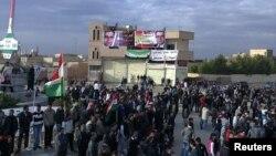 Новые антиправительственные акции в Сирии