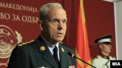 Претседавачот на Воениот комитет на НАТО генерал Кнуд Бартелс.