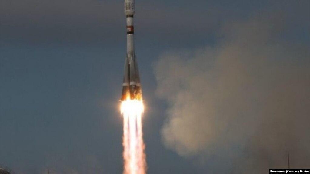 Пуск ракеты с космодрома Восточный в ноябре 2017 года