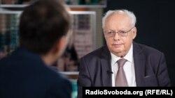 Мирослав Скорик у студії Радіо Свобода. Жовжень 2018 року
