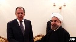 حسن روحانی٬ رئیس جمهور ایران و سرگئی لاوروف٬ وزیر خارجه روسیه