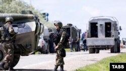 Полицейская операция в Чечне. 9 мая 2016 года.