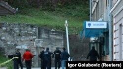 Поліцейська дільниця у Зворніку, на яку стався напад, 27 квітня 2015