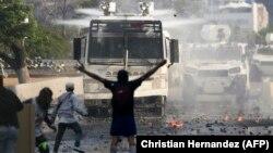 La protestele antiguvernamentale de la Caracas, 1 mai 2019