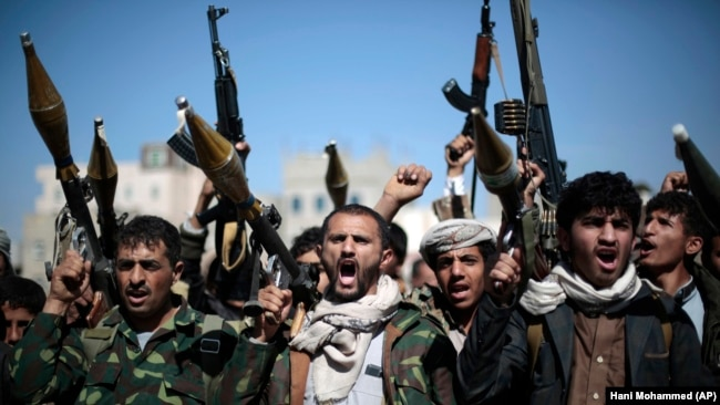 Tehran is believed to have been supplying arms to Huthi rebels in Yemen. (file photo)