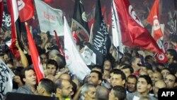 Прихильники ісламістської партії «Ан-Нагда» в Тунісі, архівне фото
