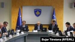 Një nga mbledhjet e Qeverisë së Kosovës