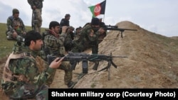 Afghan authorities said 15 troops were wounded in the fighting in the province bordering Turkmenistan. (file photo)