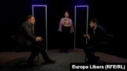 Программа Punct și de la capăt в студии Свободной Европы