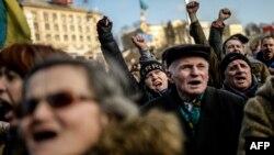 Майдан дождался уступок президента Виктора Януковича