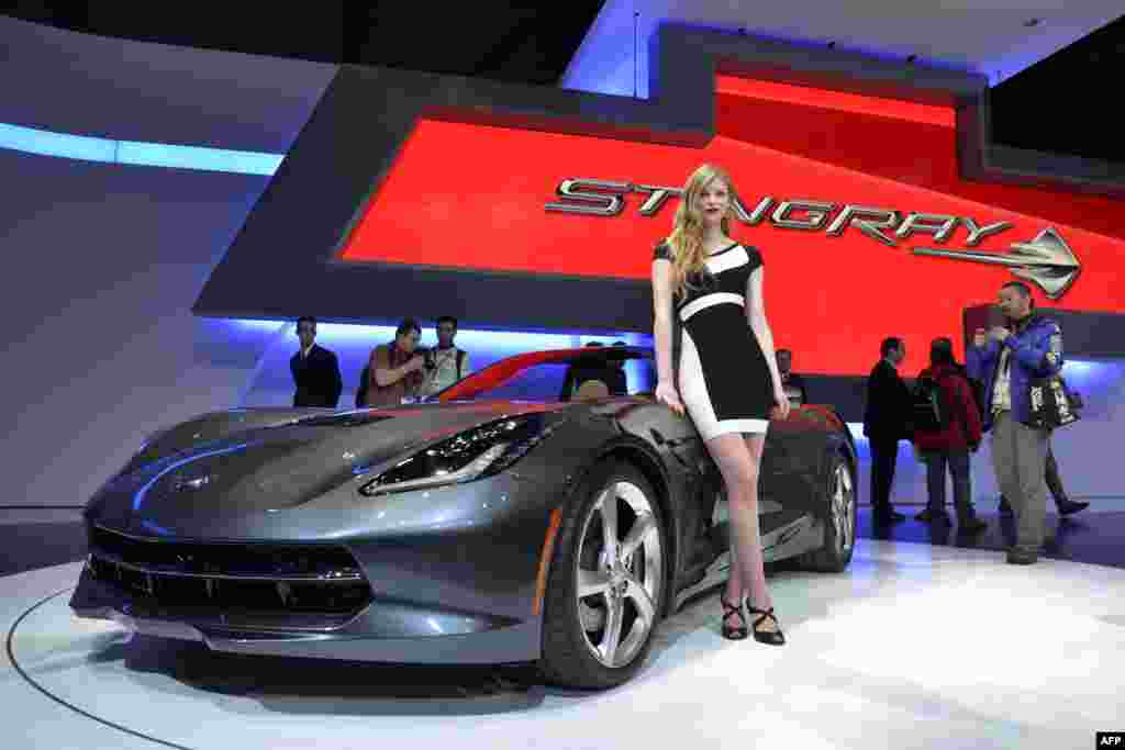 The Chevrolet Corvette Stingray