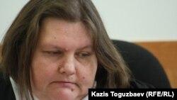 Татьяна Черныш, судья Бостандыкского районного суда. Алматы, 20 декабря 2012 года.