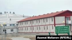 Вахтовый поселок на месторождении Тенгиз.