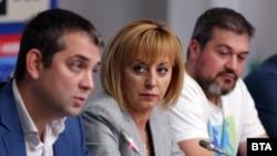 Димитър Делчев, Мая Манолова и Никола Вапцаров