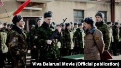 """кадр зь фільму """"Жыве Беларусь!"""""""
