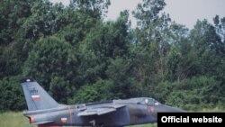 Avion Orao, arhivska fotografija Vojske Srbije
