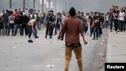 Sukob pristalica i protivnika svrgnutog predsjednika Muhameda Mursija, Kairo, 2013.