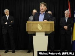 Komšić na konferenciji za novinar nakon trilaterale