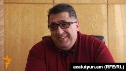 Չարենցավանի քաղաքապետ Հակոբ Շահգալդյանը: